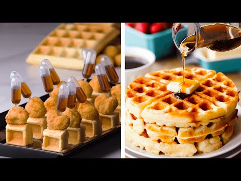 Quick And Easy Bite-sized Foods And Desserts! | Tiny Snacks And Cheesecake By So Yummy