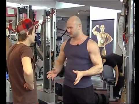 Упражнения на круглые мышцы