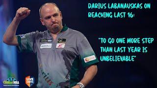 "Darius Labanauskas on reaching Last 16: ""To go one more step than last year is unbelievable"""