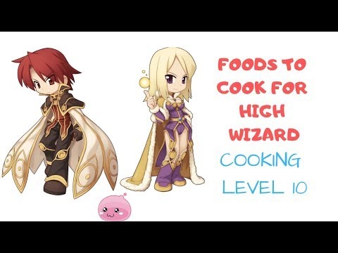 How To Cook In Ragnarok Mobile  - Unlock Cooking Quest & Cooking Recipe - High Wizard Food (english)