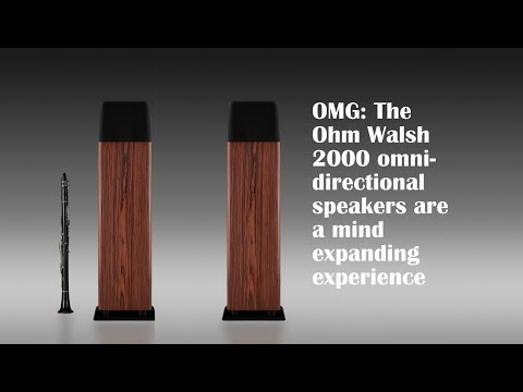 And now for something completely different: Ohm Walsh 2000 speaker