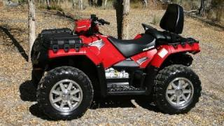 8. ATV Television - 2012 Polaris Sportsman Touring 550 EPS Test