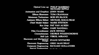 Blade Runner - Full End Titles End Credits Cast & Crew