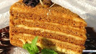 торт рыжик от бабушки эммы видео рецепт
