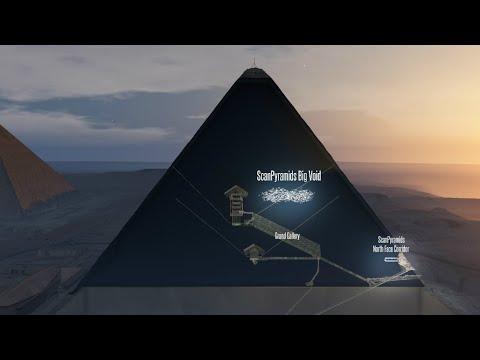العرب اليوم - علماء آثار يكتشفون تجويفًا بحجم طائرة في قلب هرم خوفو