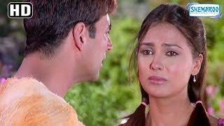 Lara Dutta stops Akshay Kumar from Joining Airforce - ANDAAZ (2003) - Romantic Hindi Movie