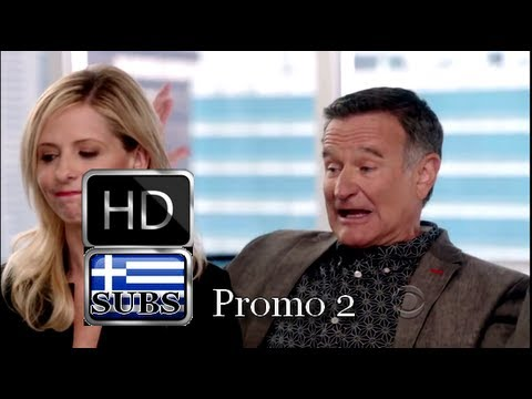 The Crazy Ones 1x02 The Spectacular Promo 2 with Greek subs