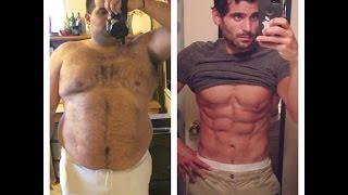 Amazing Body Transformation - Edwin Velez - From Fat To Fit Muscular Ripped