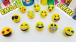 Emoji Altından Ne Çıkarsa Slime Challenge - Emoji Slaym
