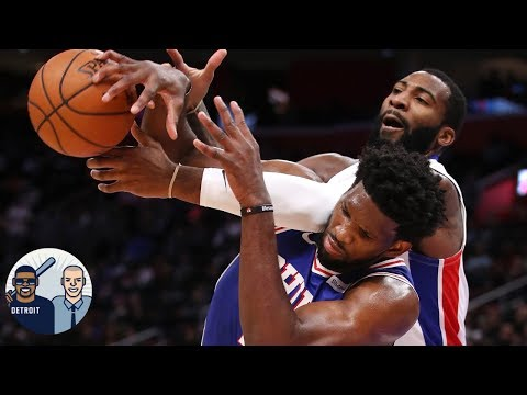 Video: Does Joel Embiid own 'real estate' in Andre Drummond's head? | Jalen & Jacoby nba