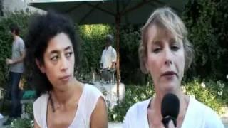 POLISSE Karin Viard & Naidra Ayadi (B.A + interview)