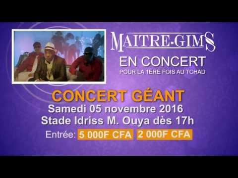 Maitre Gims en concert à N'Djamena