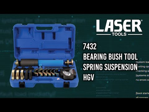Bearing Bush Tool Spring Suspension HGV