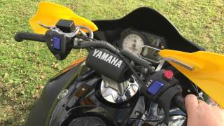 2. Starting the 2008 Yamaha Apex RTX ER