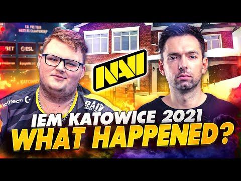 Что Случилось с NAVI CSGO на IEM Katowice 2021?