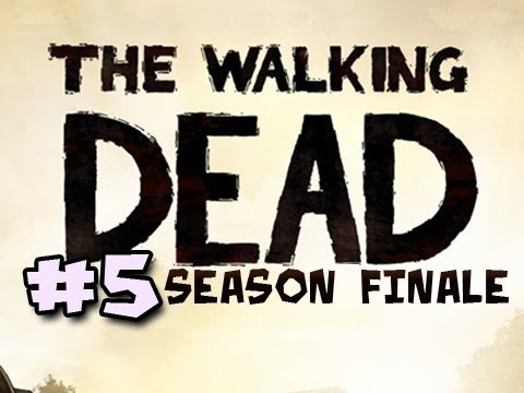 The Walking Dead Episode 5: NO TIME LEFT Walkthrough Ep.5: A SAD &amp; DEPRESSING ENDING Video