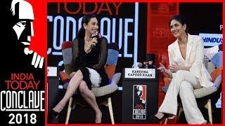 Video Sridevi, Madhuri Inspired Me To Act: Kareena Kapoor With Sister Karisma | IT Conclave 2018 MP3, 3GP, MP4, WEBM, AVI, FLV Maret 2018