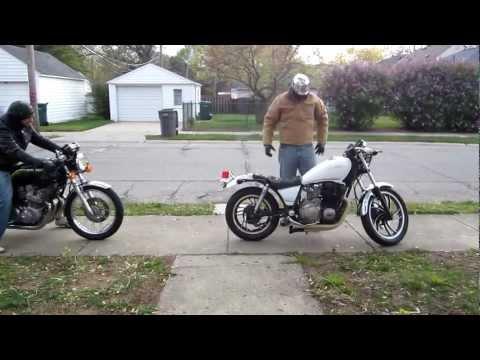 '82 Yamaha Maxim XJ650 Cafe Racer - Maiden Voyage | Videos | custom-bike.com