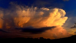 Vivid Towering Cumulus Storm Cloud Time lapse