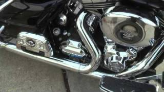 8. 2010 Harley Road King Classic - Power Commander V - First Run