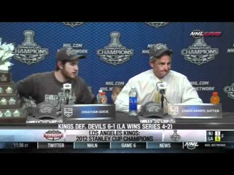 gwyshynski - After Game 6 and the LA Kings' Stanley Cup victory.