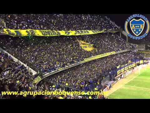 Salida Boca Juniors vs Cerro Porteño. Copa Libertadores 2016 - La 12 - Boca Juniors - Argentina - América del Sur