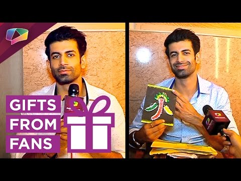 Namik Paul receives gifts from his fans on his bir