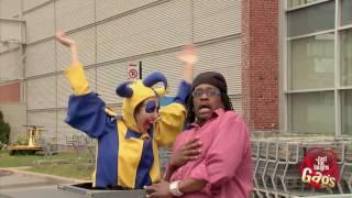 Parking Gate Jack-In-The-Box Clown Prank