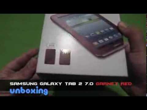 Samsung Galaxy Tab 2 7.0 Garnet Red Edition