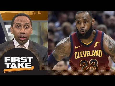 Stephen A. Smith on LeBron James' season: It hasn't been great | First Take | ESPN
