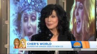 Cher Today Show Interview - Talks Miley Cyrus - September 23, 2013
