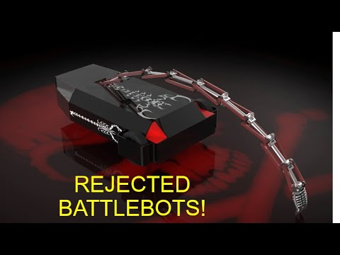 10 CRAZY Rejected Battlebots!!!