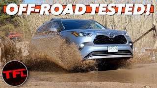 Do You Really Need A 4Runner? 2020 Toyota Highlander Mud, Snow, & Rocks Off-Road Review! by The Fast Lane Car