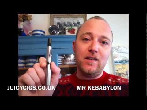 Mr Kebabylon Reviews The Ego-W – Tank Atomiser Electric Cigarette/PV (Re-take)