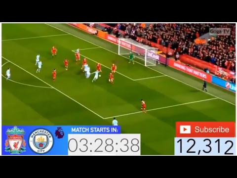 Liverpool Vs Manchester City LIVE STREAM (Premier League) Live Stats + Countdown HD