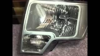 Installed oracle halos on f150 headlights