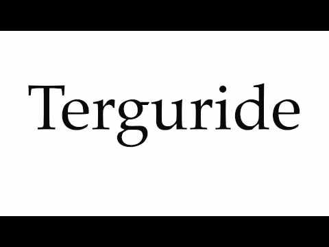 How to Pronounce Terguride