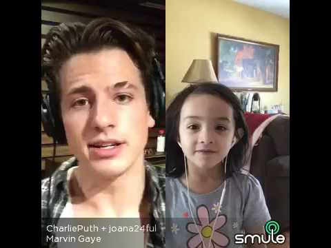 Smule Sing Charlie Puth And A Little Girl Joana_Marvin Gaye