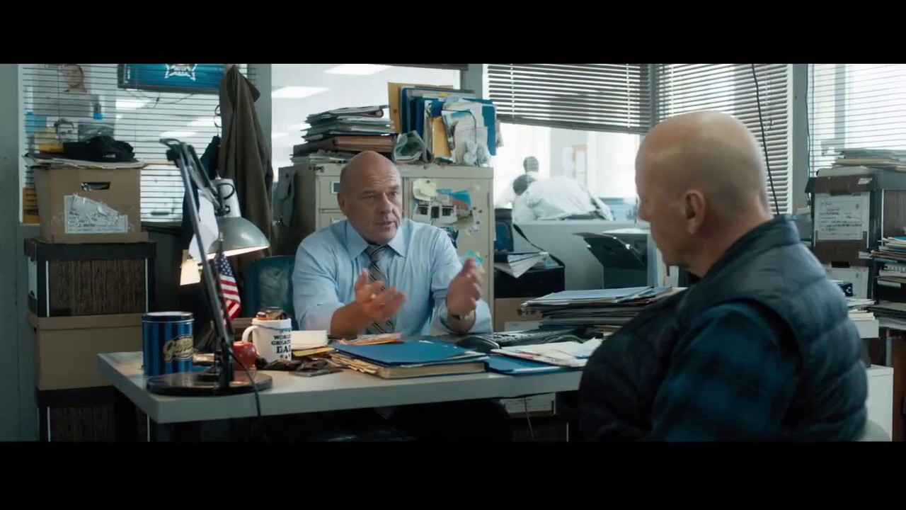 Somebody Has to Do It. They came for Bruce Willis Family & Now he's coming for them in 'Death Wish' (Clip) with Vincent D'Onofrio & More