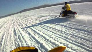 7. 2010 Ski Doo 800 XRS vs 2010 Ski Doo 800 X Etec