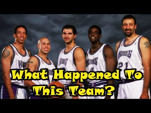The Rise And Fall Of The 2002 Sacramento Kings