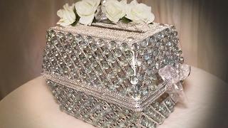 DIY | Dollar Tree Wedding Bling Card Box