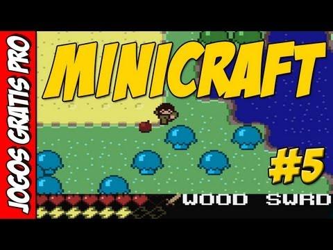 Minicraft Plus #5 [Do mesmo criador do Minecraft] - Jogos Gratis Pro