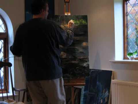 painting a riverrrr