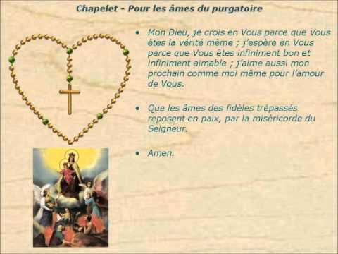 Prière pour les âmes du Purgatoire...vers le 1er Novembre 0