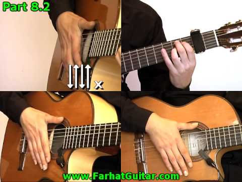 Bamboleo - Gipsy Kings Guitar Cover  Part 8.2 www.FarhatGuitar.com