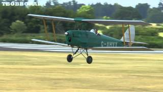 GIANT SCALE VINTAGE RC AIRCRAFT - RAF COSFORD RC LMA MODEL AIRCRAFT SHOW - 2013
