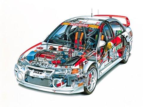 Фильм «Назад в гонки» постройка автомобиля Lancer Evolution IV часть I