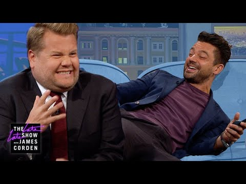 Shock Therapy Quiz W/ Dominic Cooper & James Corden