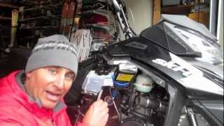 1. Ski-Doo U: Changing Your Chaincase Oil